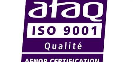 vertification afnor ISO 9001